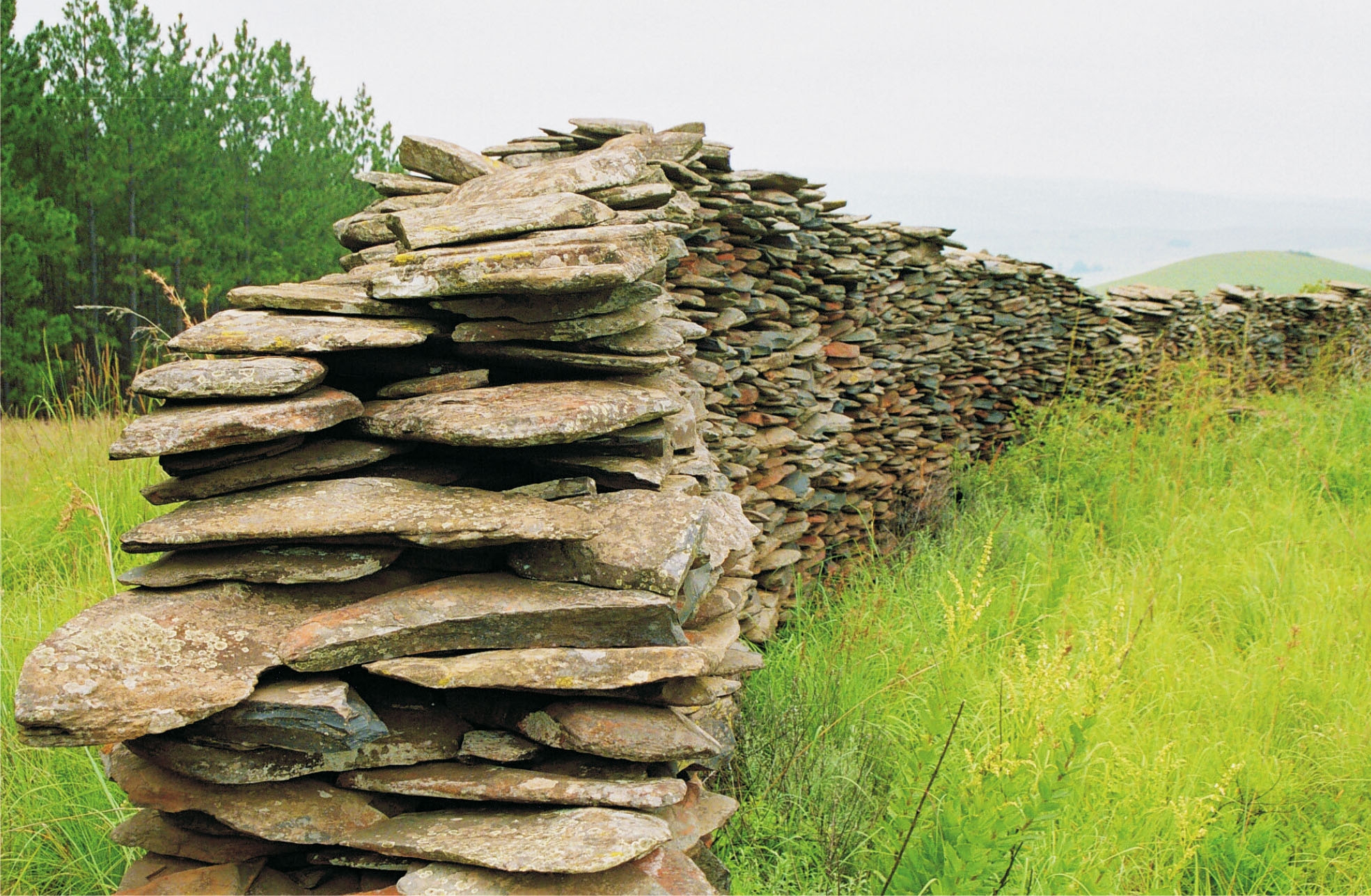 Stonewalled cities of Bakone