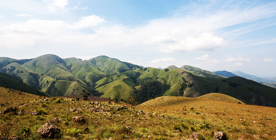 The Makhonjwa Mountains home to the Geotrail, just one of the fantastic attractions found along the Genesis Route